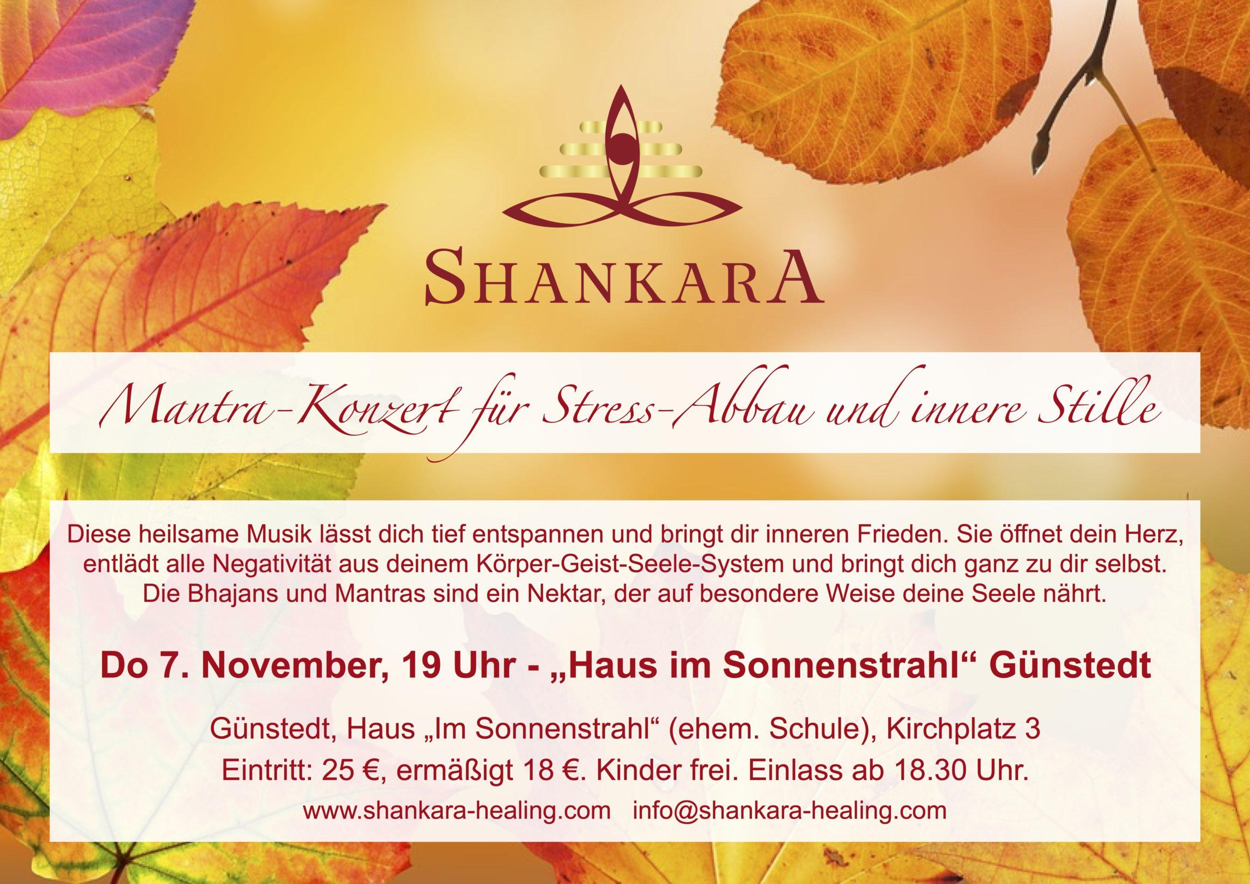 Konzert für die Seele mit Bhajans und Mantras