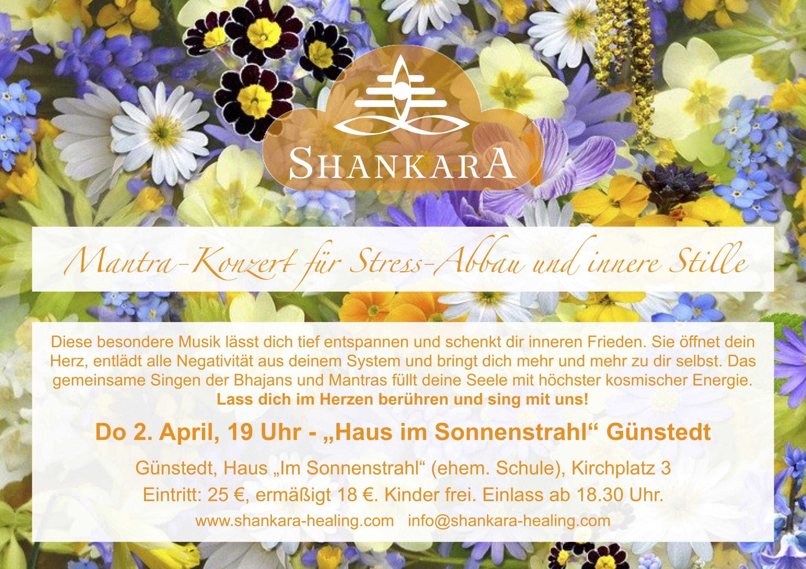 Mantra-Konzert für  Stress-Abbau und innere Stille