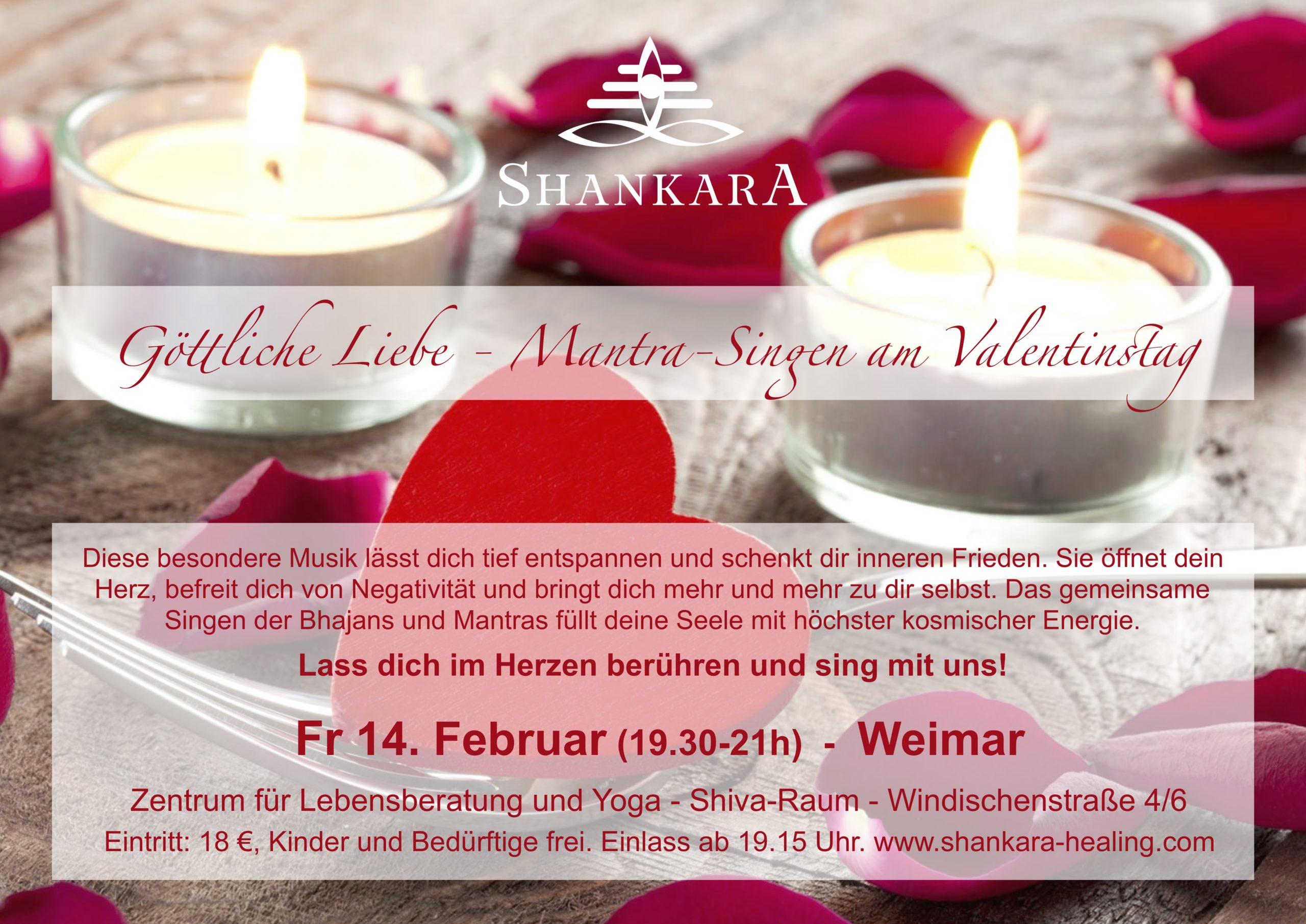 Göttliche Liebe - Mantra Singen am Valentinstag