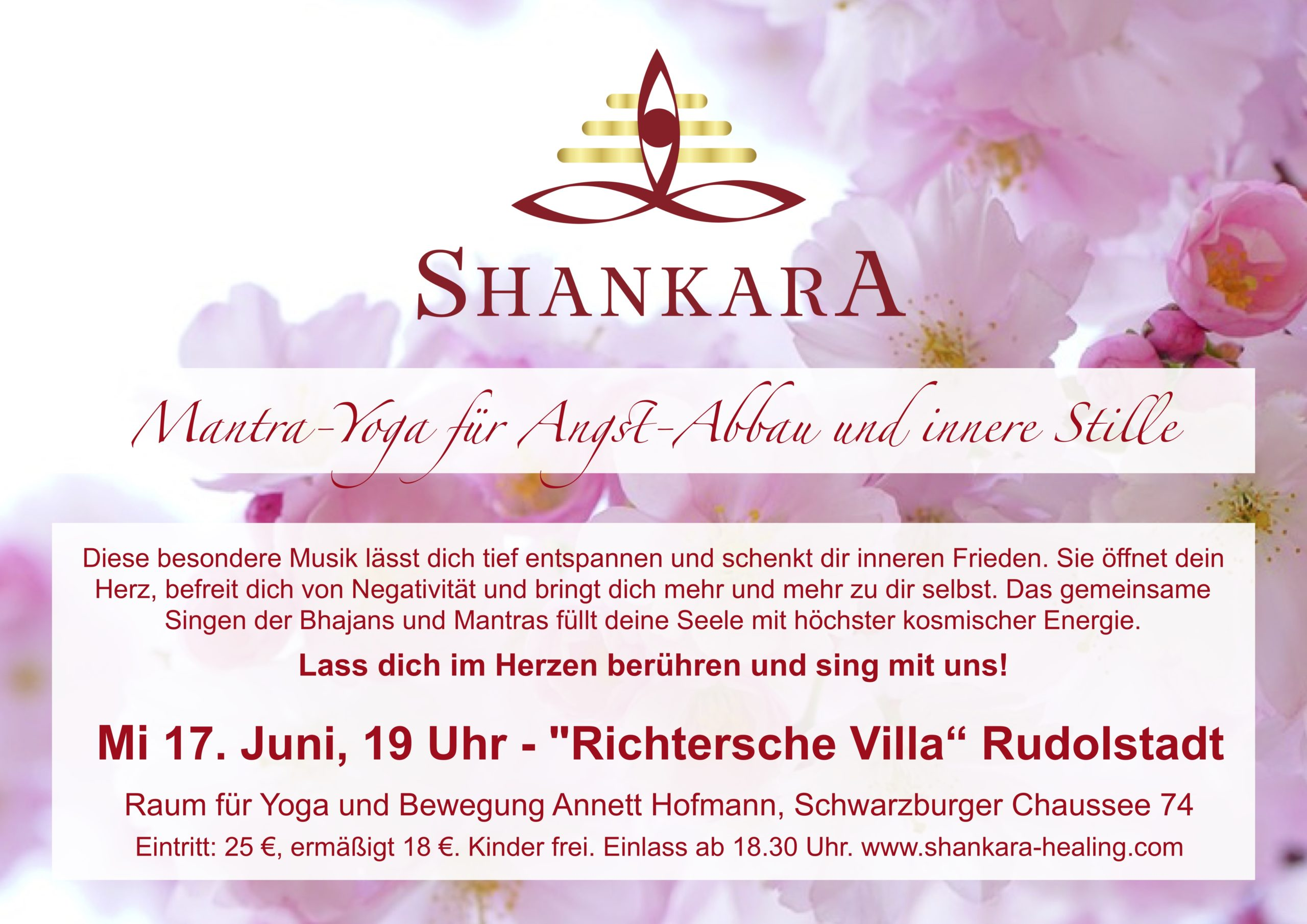 Mantra-Yoga mit Shankara in Rudolstadt