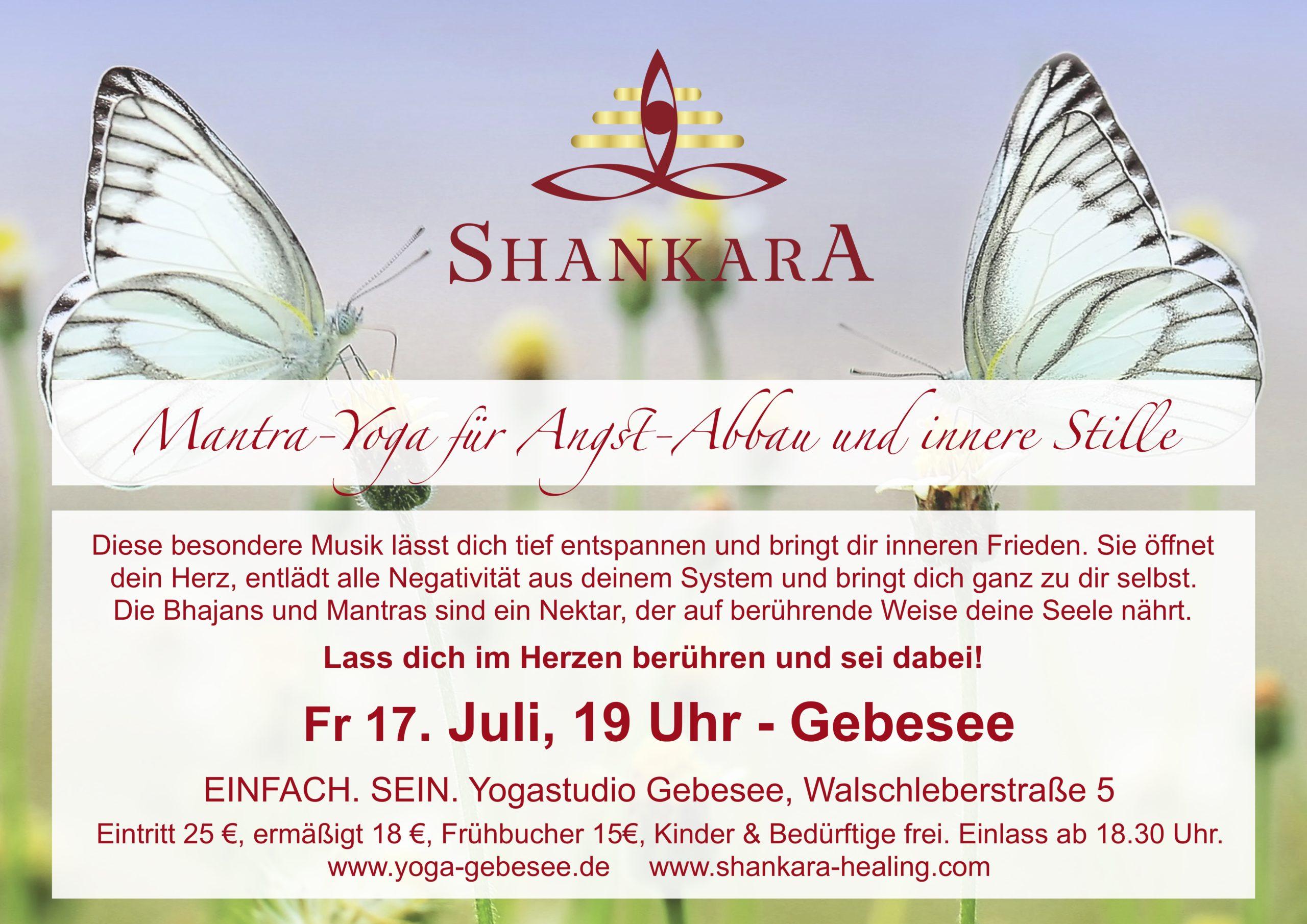 Mantra-Yoga für Angst-Abbau und innere Stille