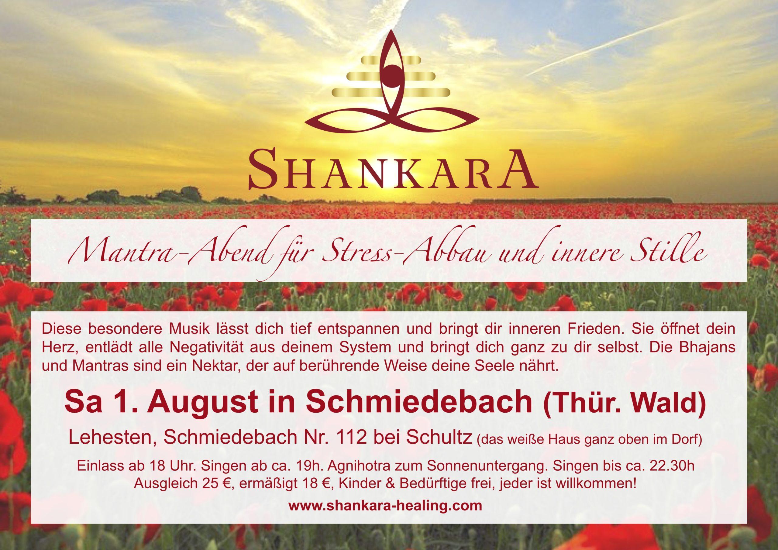 Mantra-Abend für  Stress-Abbau und innere Stille